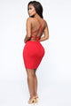 Focus On Me Mini Dress - Red