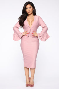 Eyes On Me Blazer - Pink