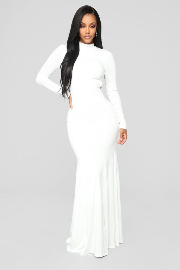 652df20746 Always Flawless Open Back Dress - Off White