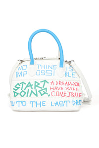 High Stakes Crossbody - White