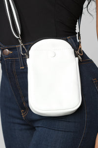 Powerful Person Crossbody - White