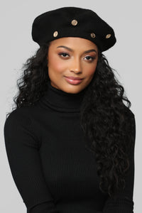 The Ivy Beret - Black