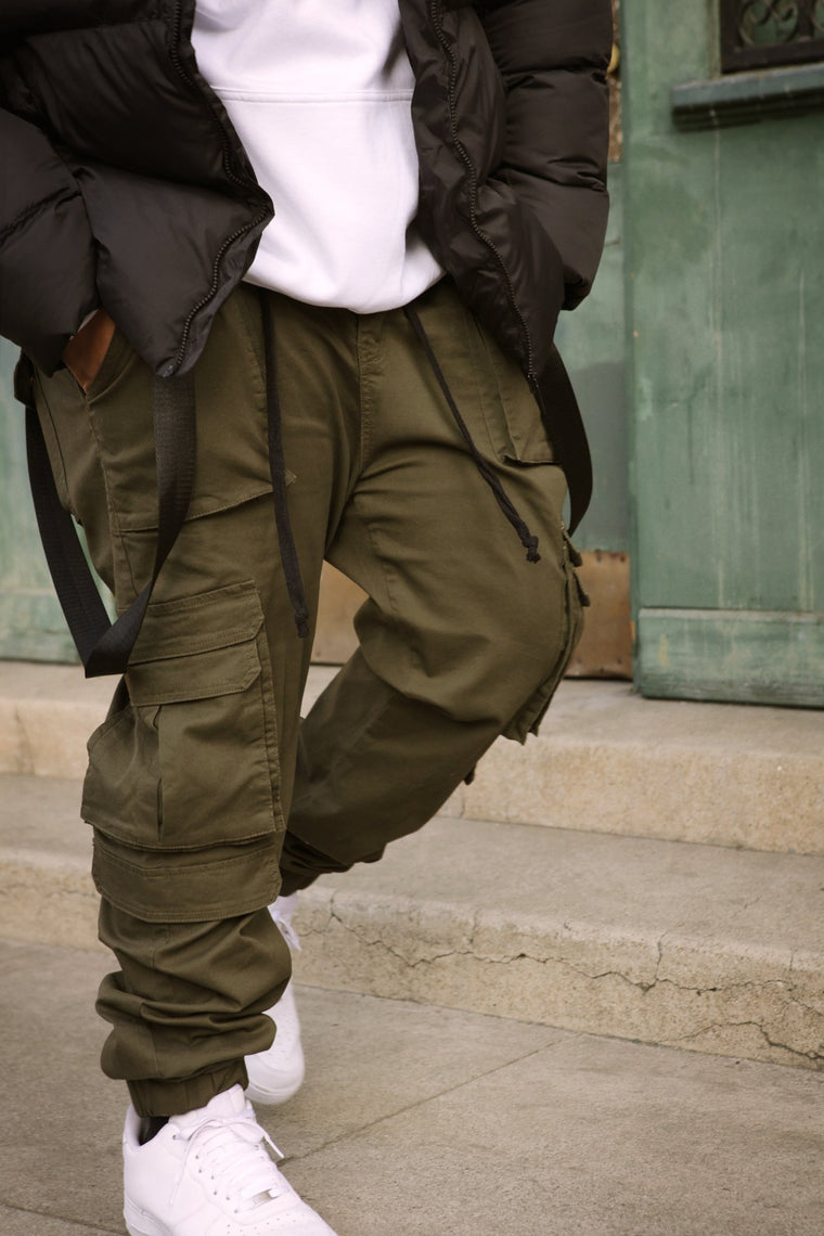 The Poison Cargo Jogger - Olive