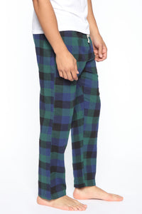 Chilly Night PJ Pant - Navy/combo