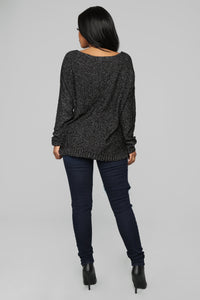 Cool Again Sweater - Black