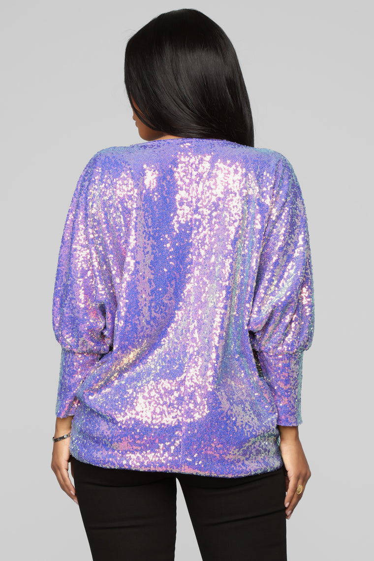 All Nighter Top - Purple
