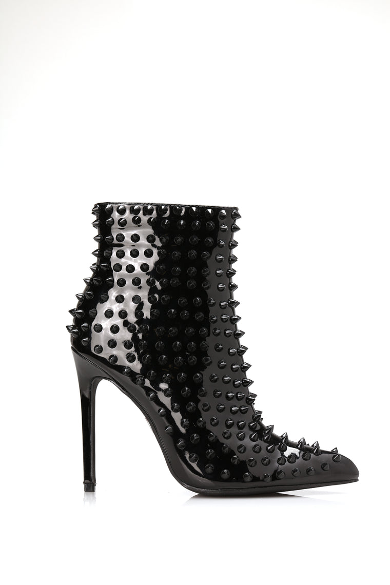 Spice Things Up Bootie - Black
