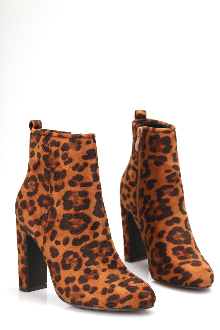 Maybe Next Time Bootie - Leopard