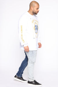 Cheech & Chong Long Sleeve Tee - White/combo Angle 9