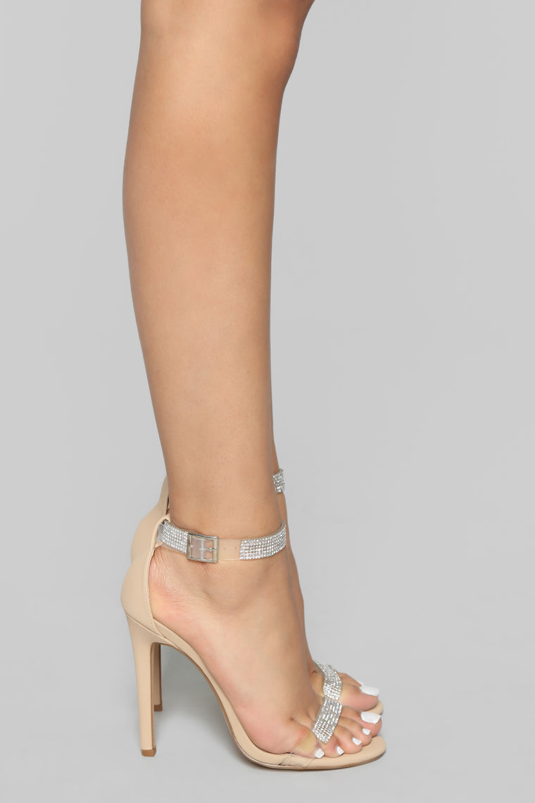 Truth Is Heeled Sandals - Nude