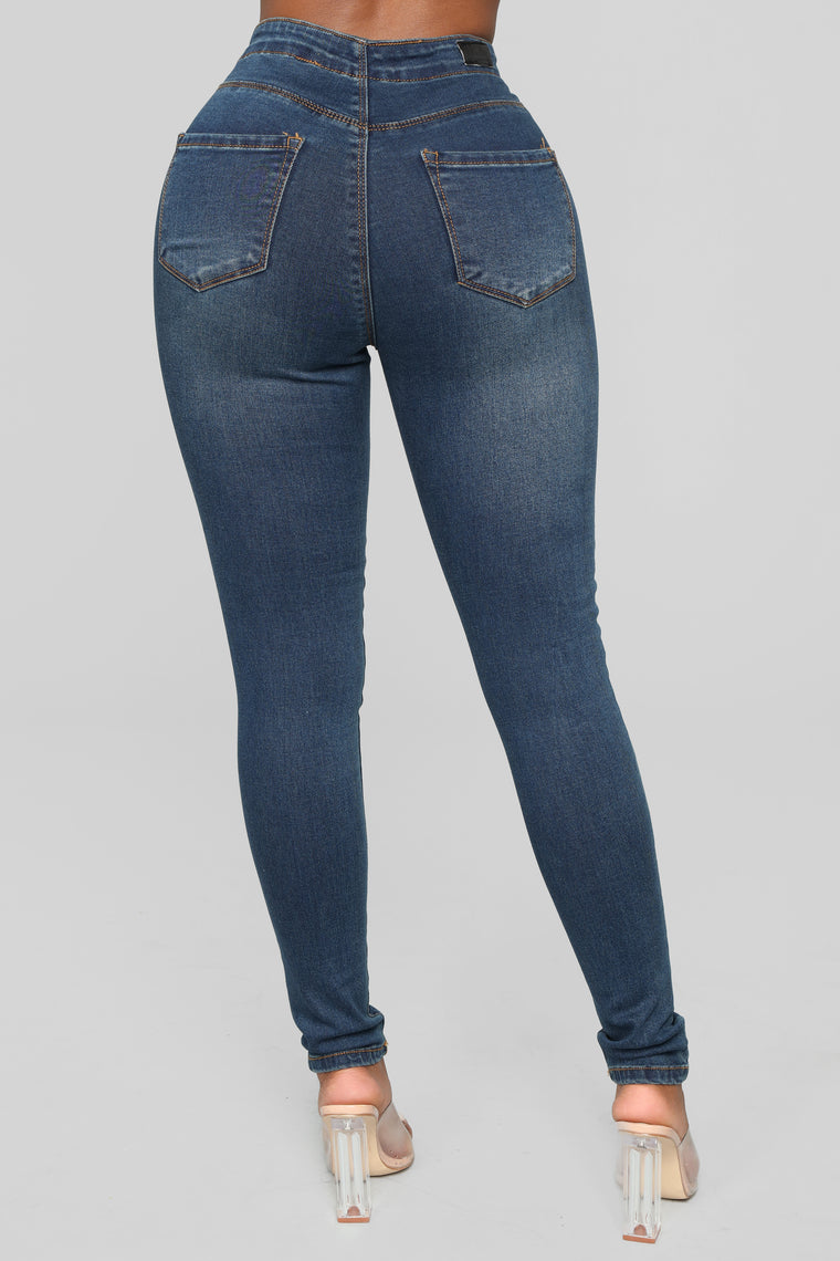 Can't Live Without You Skinny Jeans - Dark Denim