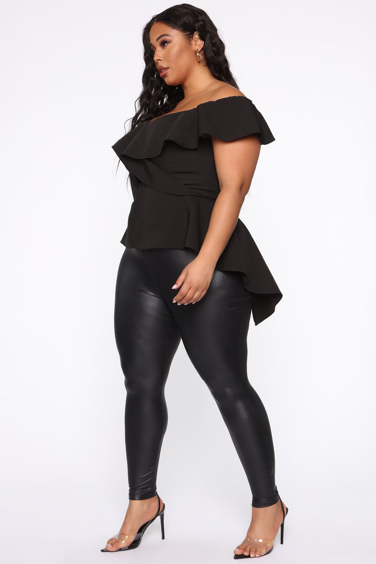 The Thrill Top - Black