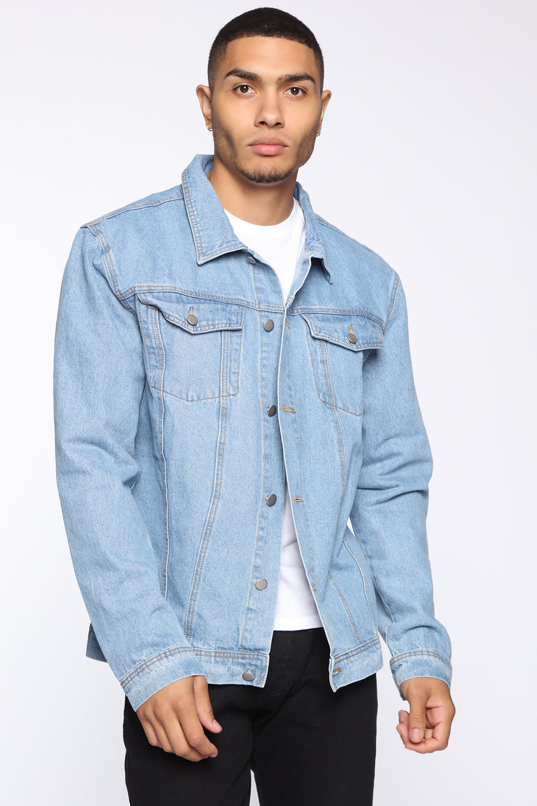Baby Daddy Denim Jacket   Medium Wash by Fashion Nova