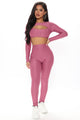 More Of Me Legging Set  - Mauve