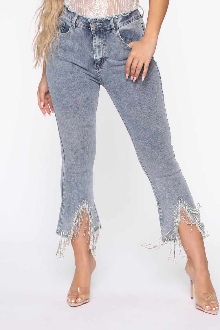 Never Too Much High Rise Jeans   Medium Wash by Fashion Nova