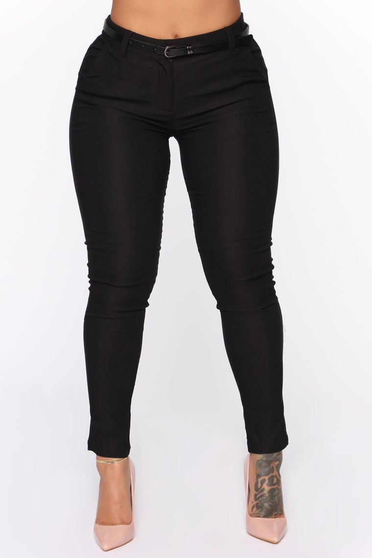 Always Wanting More Skinny Pant - Black