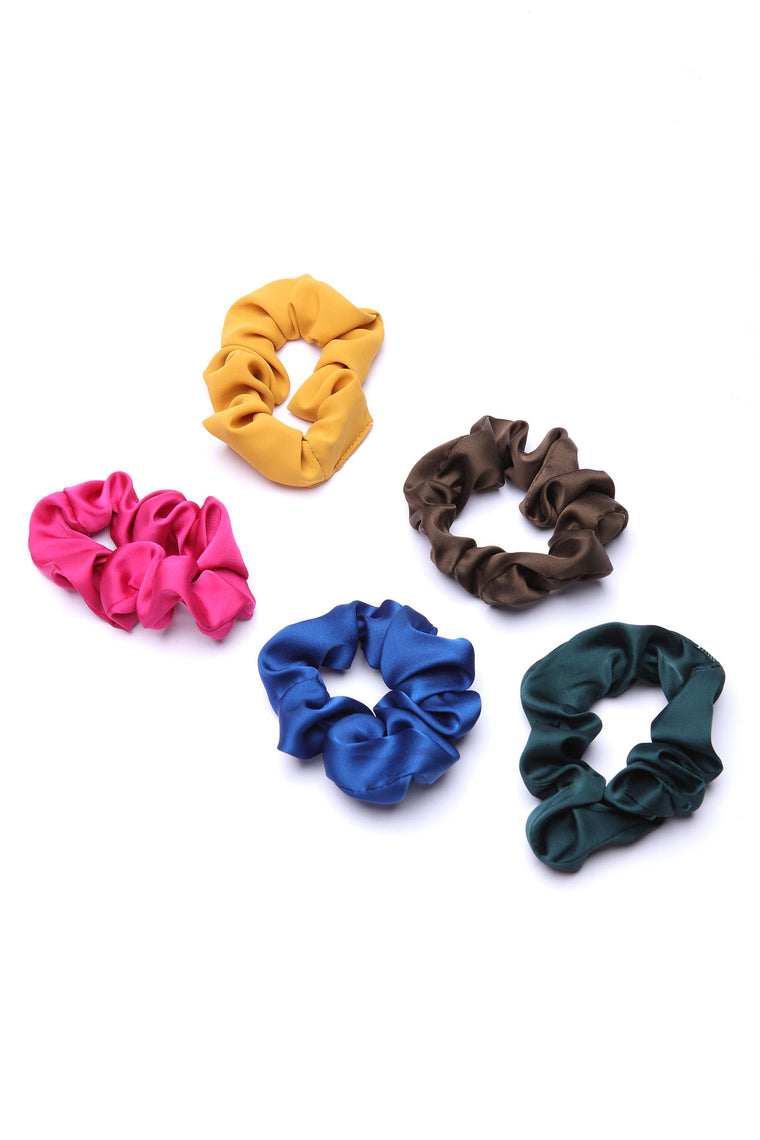 Bella Scrunchie Set - Multi Color