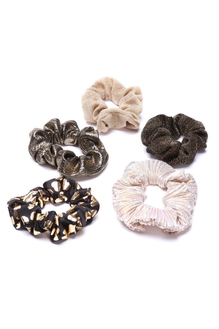 Mixed Feelings Scrunchie Set - Multi Color