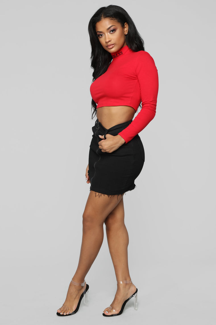 All Kinds Of Reckless LS Top - Red