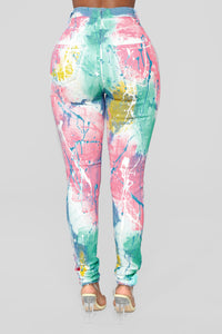 Someone For Tonight Skinny Jeans - Rainbow