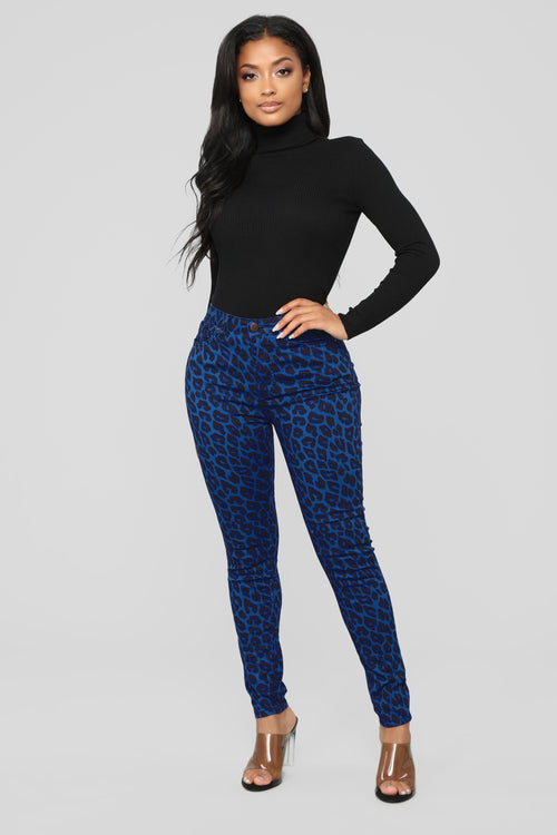 Wild At Heart Skinny Jeans - Blue