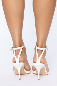 Fallin For You Heels - White Angle 4