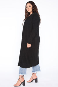 Wake Up And Make Up Cardigan - Black