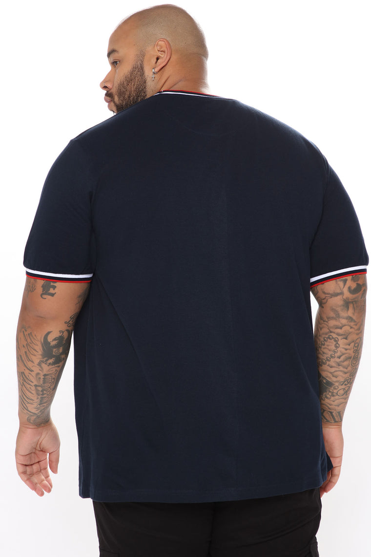 Number One Short Sleeve Tee - Navy
