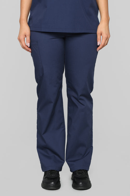 Life Saver Scrubs Pant - Navy
