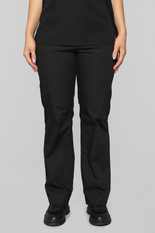 Life Saver Scrubs Pant - Black