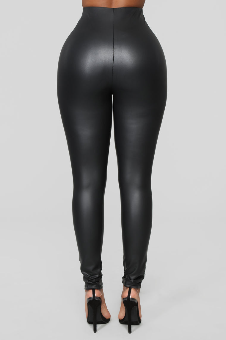 Can't Wait Any Longer Leggings - Black