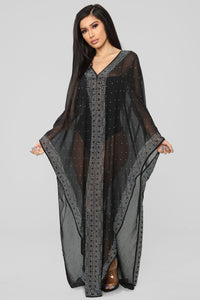 Sweet Dreams Swim Cover Up - Black Angle 1