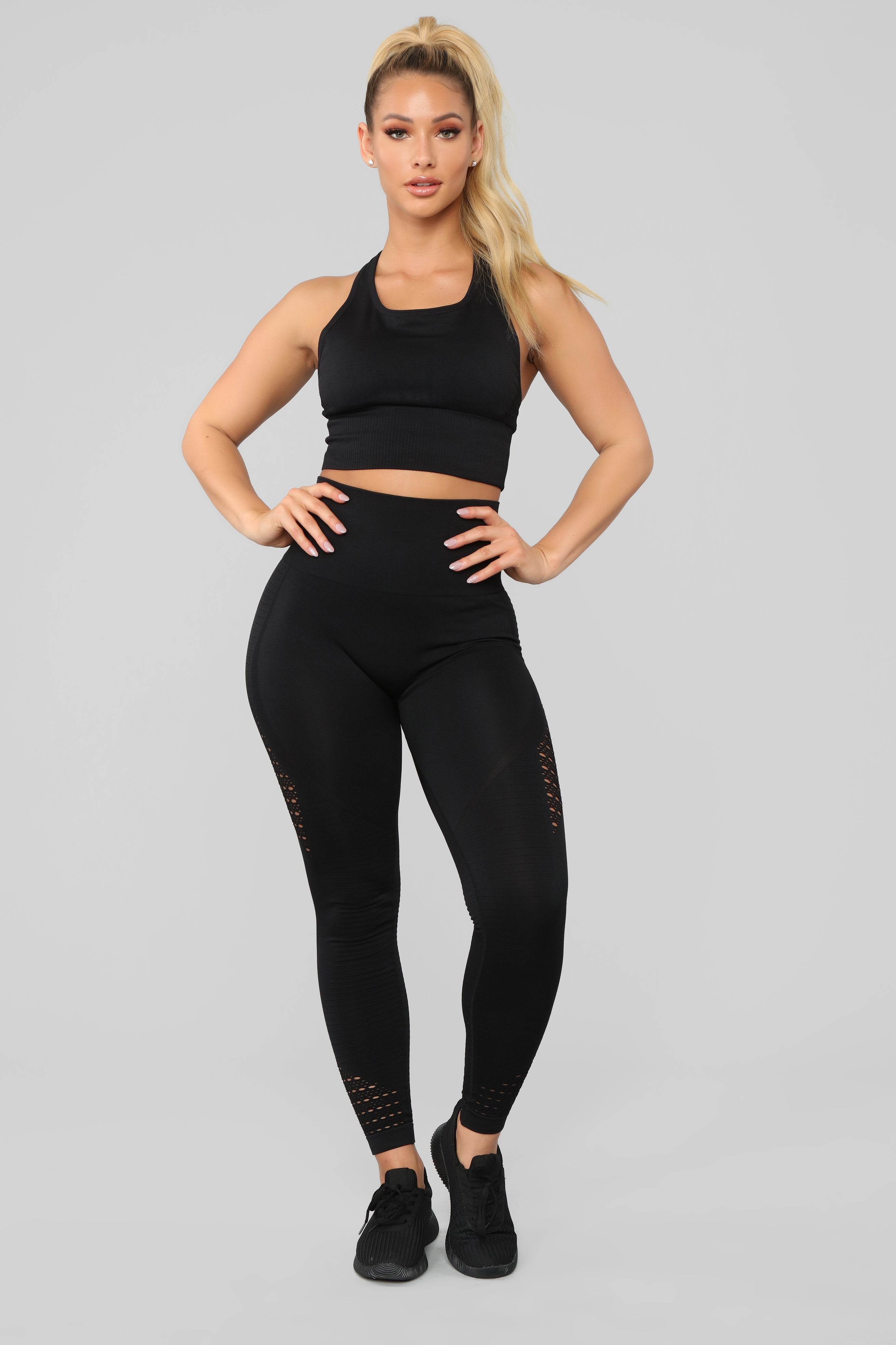 d0b6f728d9bd9 With Ease Seamless Active Leggings - Black