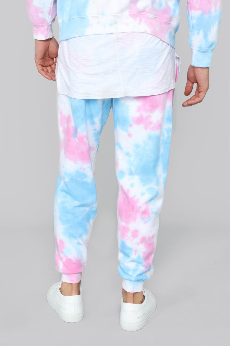 Cotton Candy Joggers - Pink/Combo
