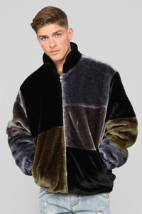 Danny Fur Jacket - Multi Color