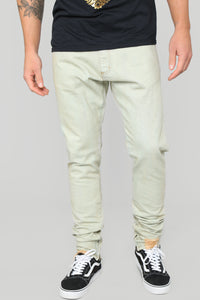 Anson Skinny Jeans - Light Fade Wash Angle 1