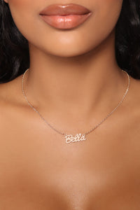 Bella Pearl Pendant Necklace - Gold