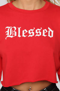 Beyond Blessed Top - Red