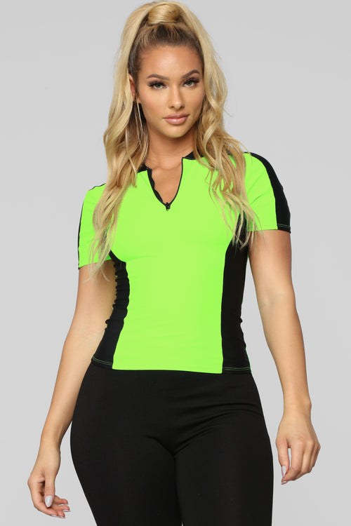 We Go Way Back Top - Neon Green 5a184b2303a