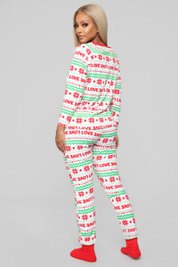 Holiday Love PJ Set - Multi