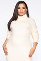 Soft Spot For You Sweater Dress - Ivory