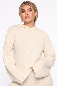 What's Knit Gonna Be Pant Set - Ivory