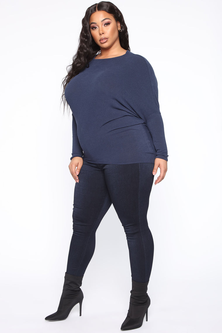 Always About It Top - Navy