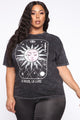Exorcise Your Rites Mineral Wash Tee - Black