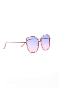 Not You Again Sunglasses - Pink Angle 3