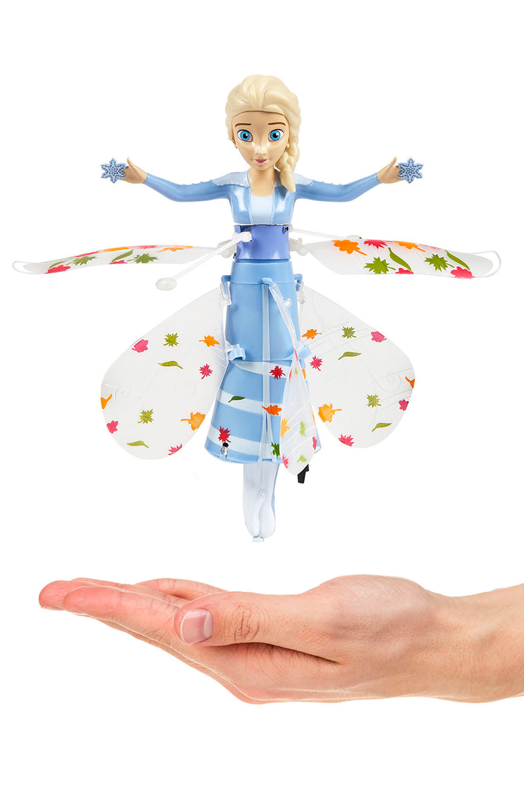 Elsa Frozen II Flying UFO and Helicopter - Blue
