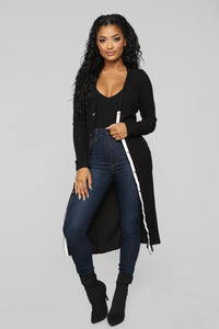 Call It Love Duster - Black