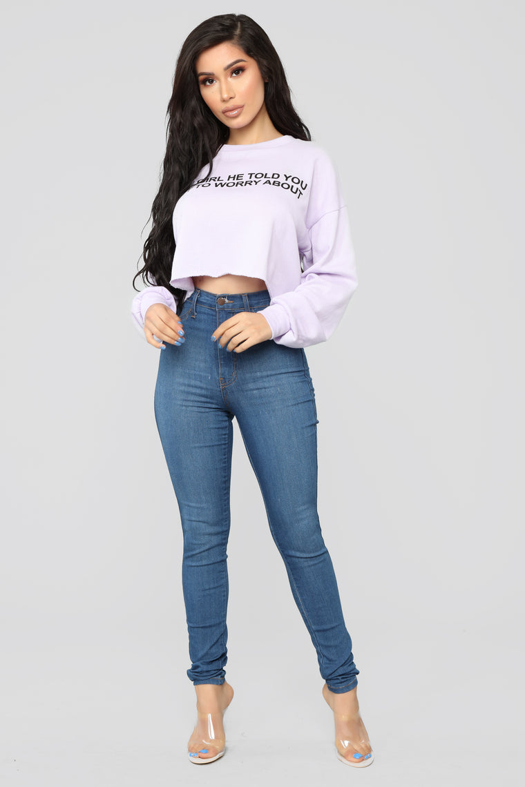 Your Competition Sweatshirt - Lavender