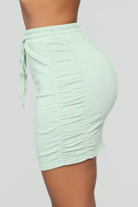 One Of Those Days Skirt Set - Sage