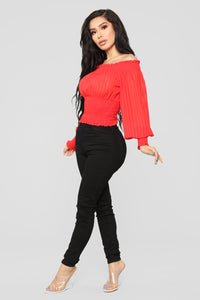 Every Kind Of Way Top - Red